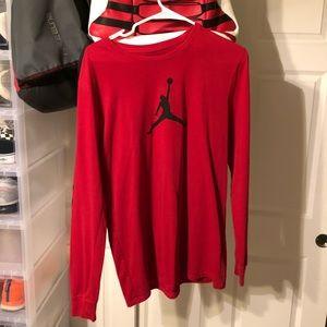 Red Jordan longsleeve